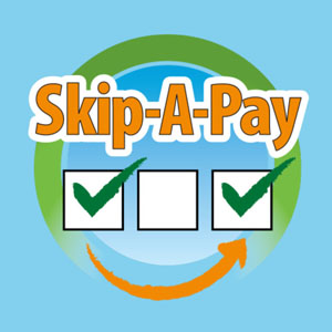 skip a pay graphic